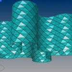 Twisting Faceted Tower