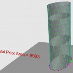 Faceted Eliptical Tower