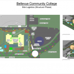 Bellevue Community College Site Logistics Model