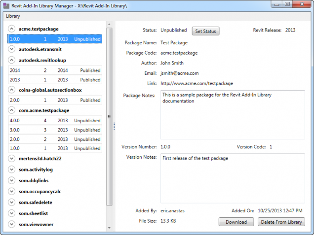 libmanager